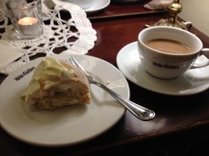 Oops, jag hann visst börja äta innan jag kom på att jag skulle fotografera också :)