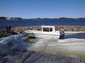 Första maj-helgen för två år sen. Få se när det blir båtpremiär i år, längtar!