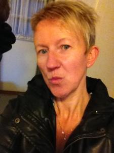 Medelålders osminkad duckface-puss på er :)